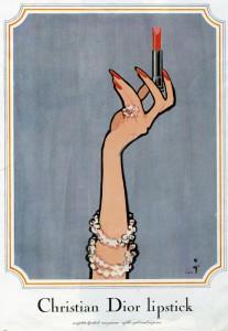 Christian Dior Lipstick ad